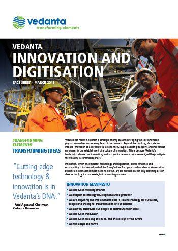 Innovation and Digitisation