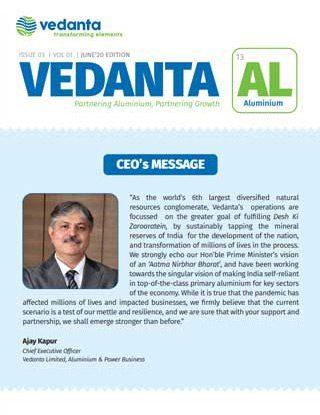 Vedanta AL June 2020