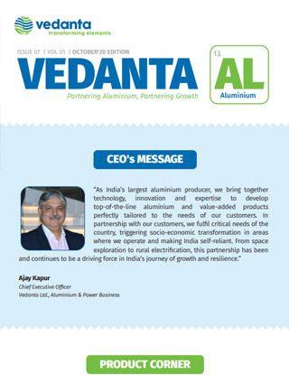 Vedanta AL October 2020