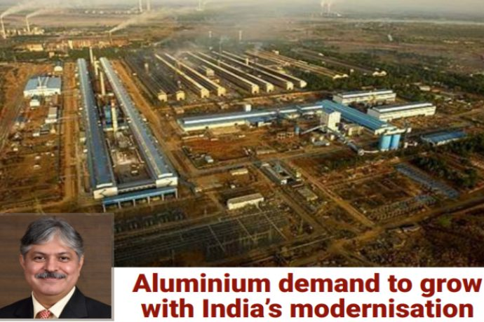 Aluminium demand to grow with India's modernisation. (Mr. Ajay Kapur's-Interview)