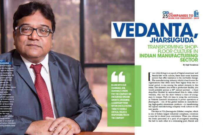 Vedanta, Jharsuguda transforming shop-floor culture in Indian Manufacturing Sector. (Mr. Abhijit Pati's Interview)