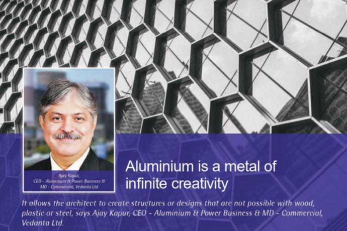 Aluminium is a metal of infinite creativity