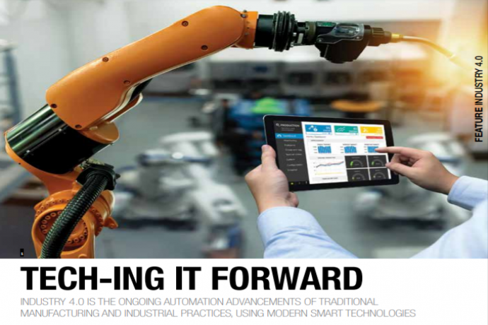 Tech-ing It Forward: Industry 4.0 in Manufacturing.