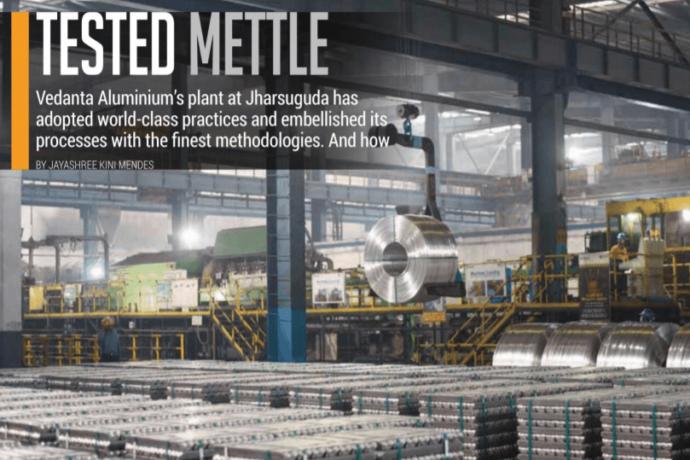 Tested mettle: Vedanta Aluminium's plant at Jharsuguda