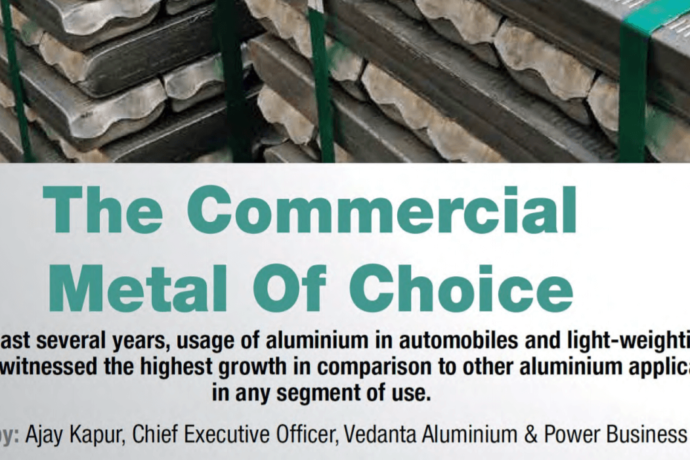 The Commercial Metal of Choice.