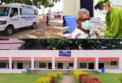 7500+ people vaccinated by Vedanta at its plants in Odisha and Chhattisgarh.