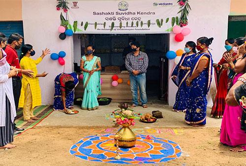 Vedanta inaugurates 'Sashakti Suvidha Kendra' to aid local women's SHGs in Kalahandi