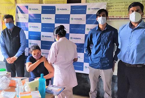 Vedanta Jharsuguda organises COVID vaccination camps at Maa Samaleshwari Nagar